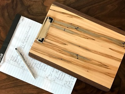 How To Make DIY Clipboards   Take Notes in Style