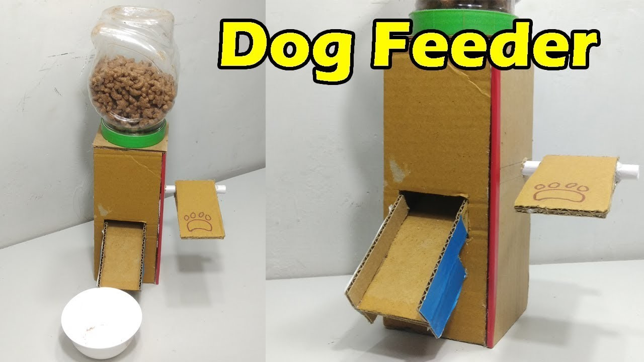 How To Make A Dog Food Dispenser