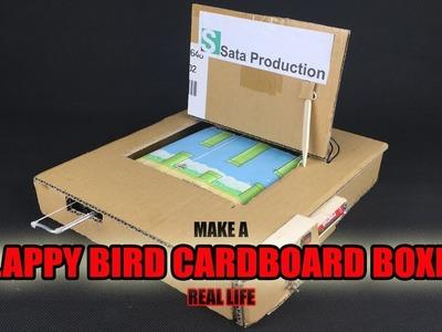 How To Make Flappy Bird Using Cardboard ✅ Real Life Flappy Bird - Amazing Game from Cardboard DIY