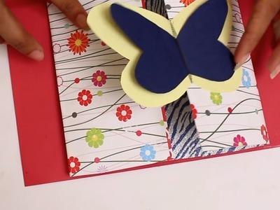 How to make Handmade Greeting Card || DIY