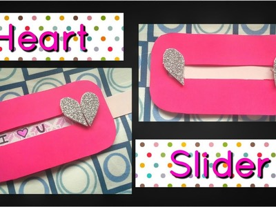 How to make Heart Slider Card for Valentines day, Boyfriend, Anniversary   Explosion box cards