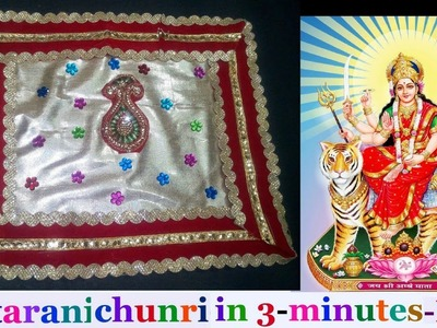 How to make chunri.dress.poshak.for Mata Rani.Durge Maa.Radha Maa.Laxmi maa |Navratri special