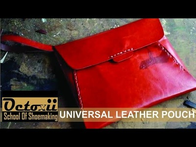 How to make leather pouch