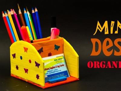 How To Make Mini Desk Organizer