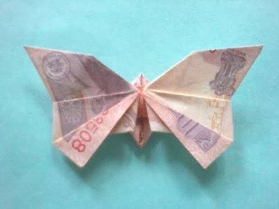 How to make note butterfly ( Note Origami )