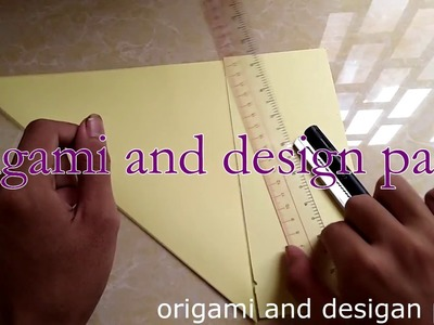 How To Make Origami Snail