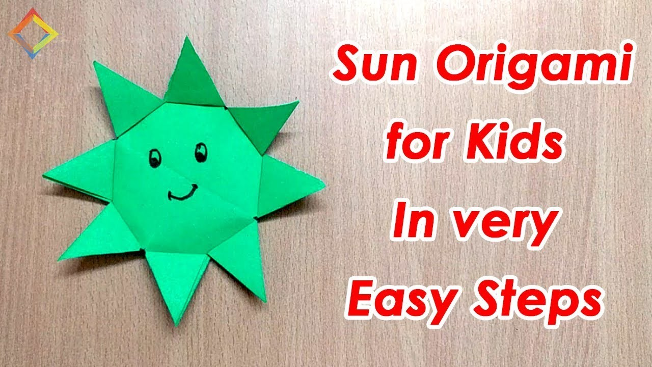 how to make a origami sun 28 images origami pretty sun