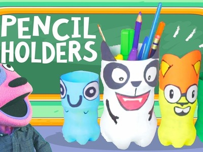 How to make.  PENCIL HOLDERS | #todayilearned