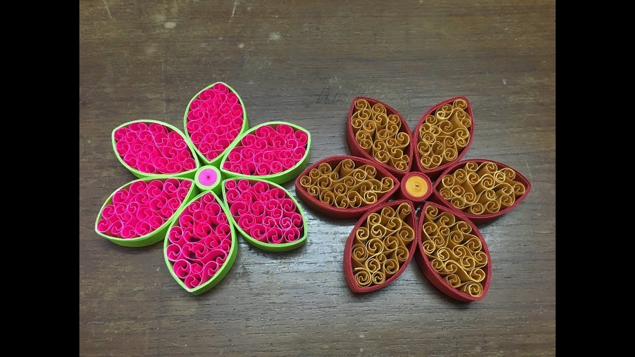 How to make quilling flower easily paper quilling flower design for how to make quilling flower easily paper quilling flower design for beginners mightylinksfo