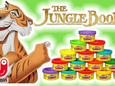 How To Make Shere Khan With Play-Doh | The Jungle Book | Jungle Book Characters | Crafty Kids