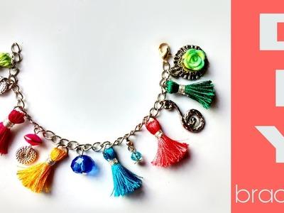 How to make tassel bracelet -diy || DA hobbies - diy