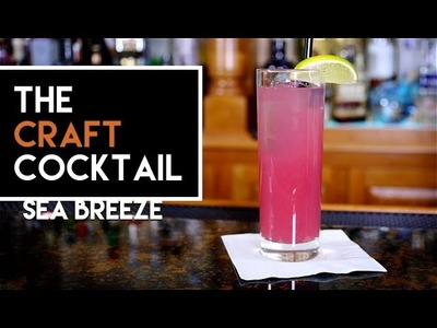 How To Make The Sea Breeze Cocktail. Easy Vodka Cocktails ???? Craft Cocktail