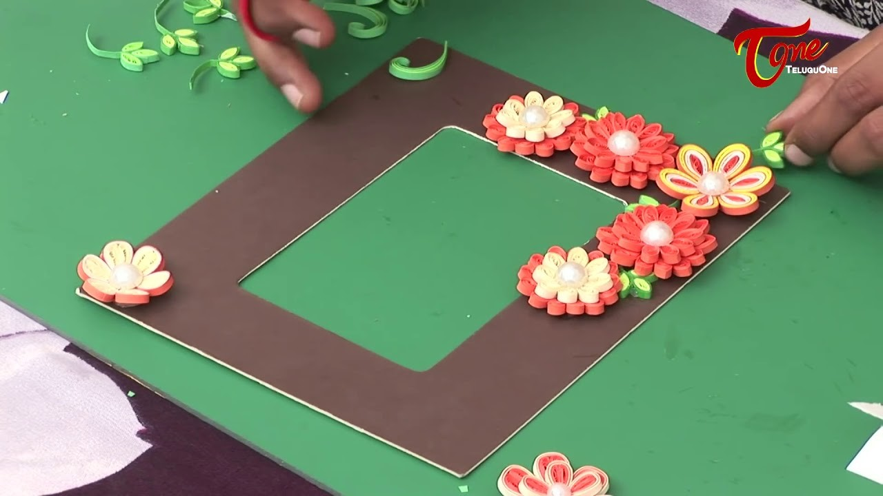 How to Making of Photo Frame Using Paper Quilling Creative Corner ...