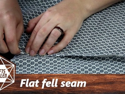 How To Sew A Flat Fell Seam | Sewing Tutorial