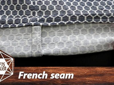 How To Sew A French Seam | Sewing Tutorial