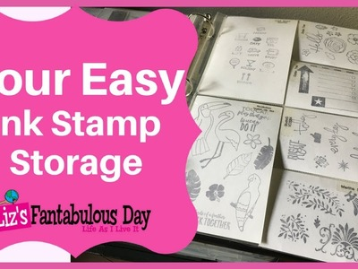 How to Store Clear Stamps, Clear Stamp Storage Ideas for Storing Clear Stamps on a Budget