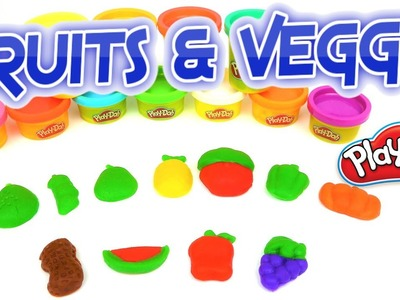How to use Play-Doh Fruits and Vegetables Set