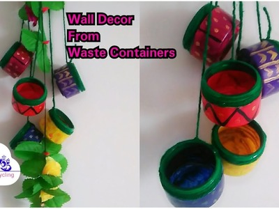 How To Use Waste Materials For Home Decor    Best Out of Waste. !