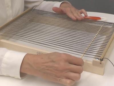 How to warp a Lilli Loom
