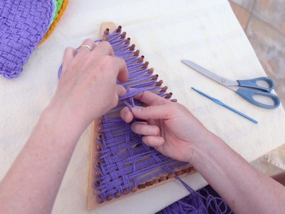 How to Weave a Triangle with the Kindred Banner Loom