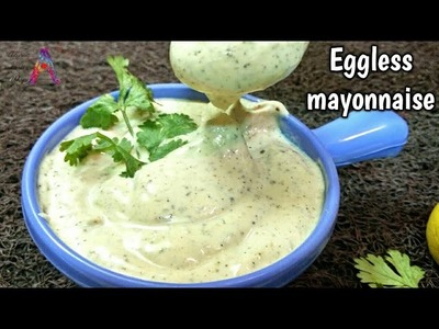 Instant homemade eggless mayonnaise recipe in hindi how to make eggless mayonnaise veg mayo in 5 min