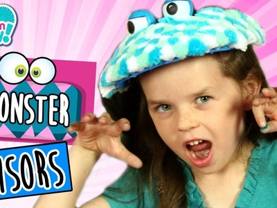 Monster Visor Hats! | How To Wow Show | Pom Pom Wow! Official