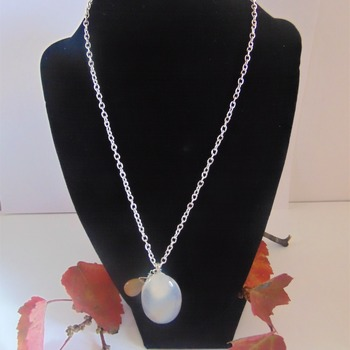 Moonstone Cabachon Necklace