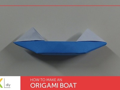 Origami toys #82 - How to make an origami boat XIV