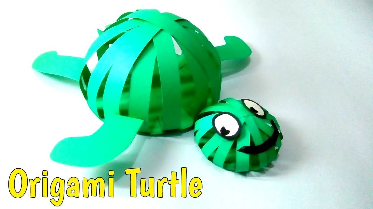 Paper Crafts Ideas Origami Turtle How To Make An Origami