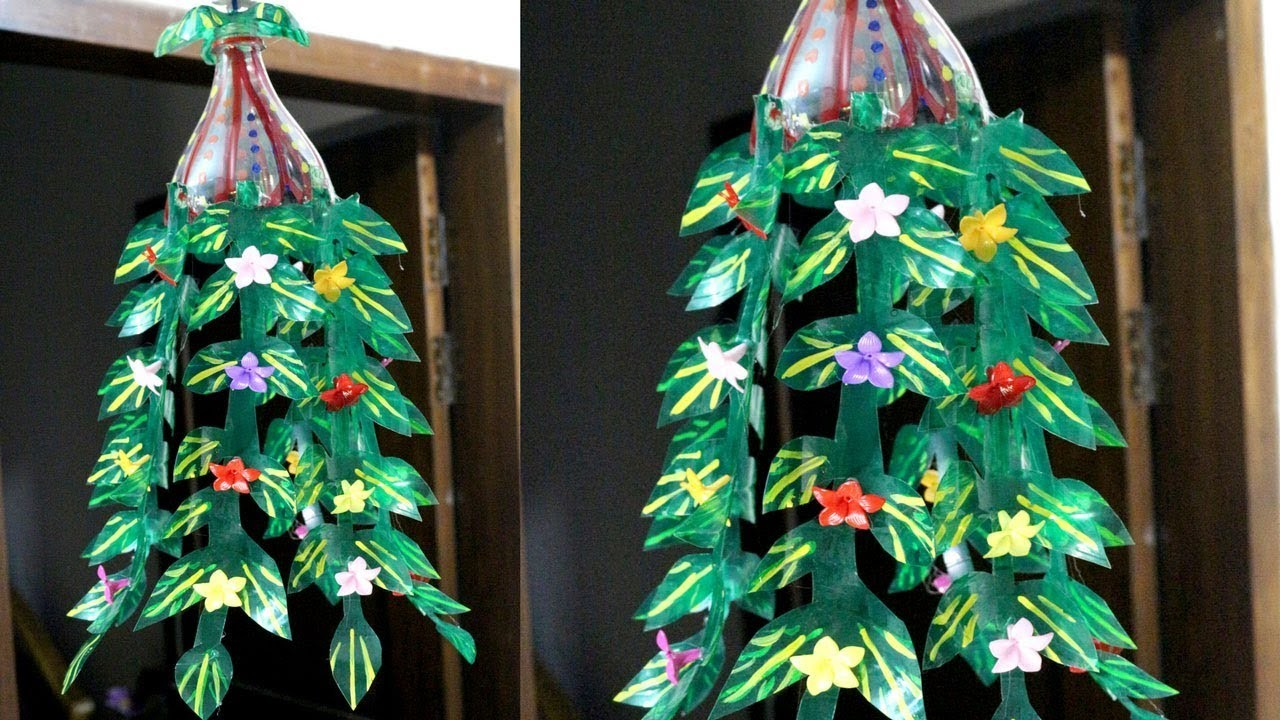 Plastic Bottles Recycling How To Recycle Plastic Bottles At Home Plastic Bottle Decoration