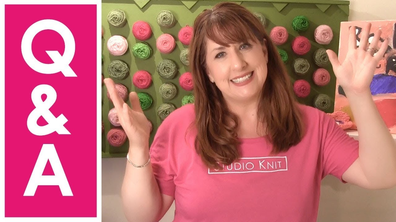 Q&A Knit Along with Me ► Day 10 Absolute Beginner Knitting Series