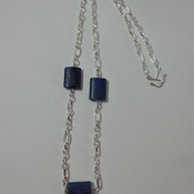 Triple Blues Necklace