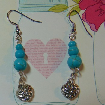 Turquoise and Hearts