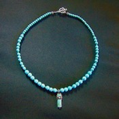 Turquoise Beads and Pendant