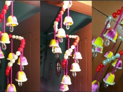 WOW! Beautiful Door Bell - How To Make Beaded Wind Chime For Door.Wall Hanging - DIY Room Decor