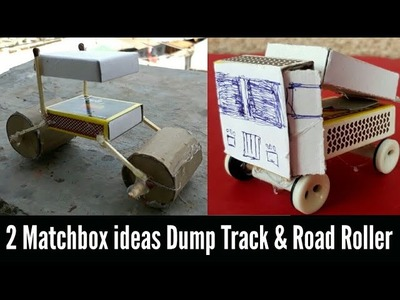 2 Brilliant Matchbox Ideas and Useful Things || How to make || Free Energy toy