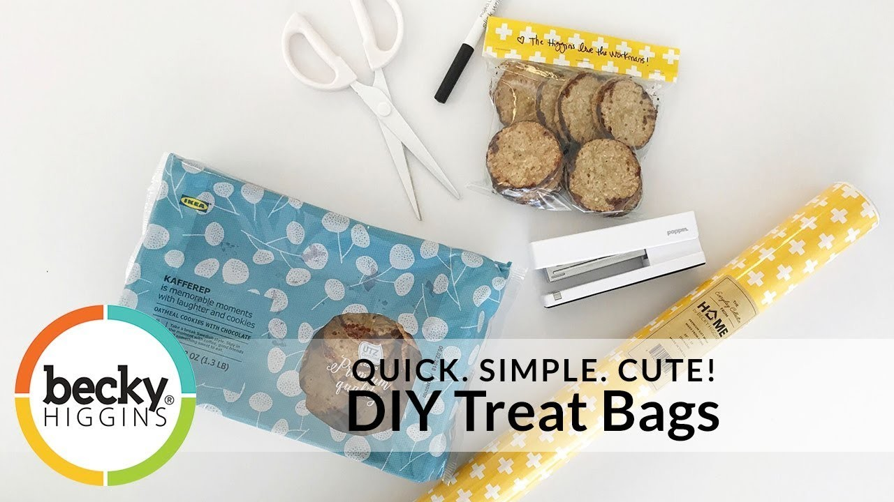Becky's How-To's: DIY Treat Bags