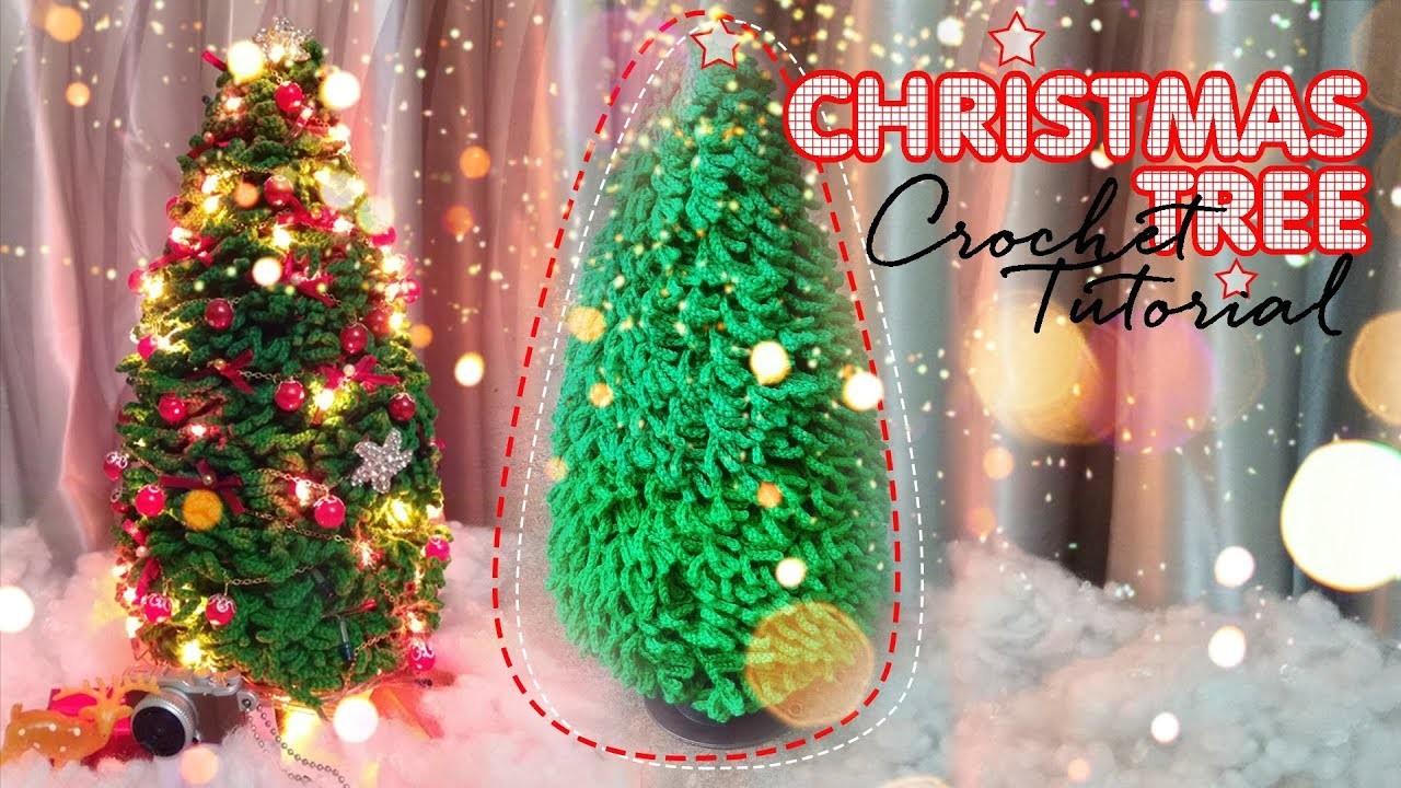 CHRISTMAS TREE | Crochet tutorial & free pattern | Snailboo HANDMADE |