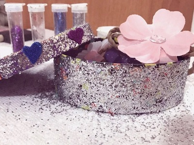 DIY Crafts: How To Decorate a Jewelry Box   How To Make Jewelry Box