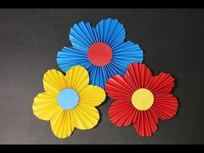 DIY | paper flower | how to make awesome origami flower at home Easy & Simple
