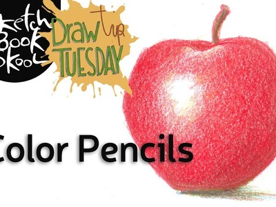Draw Tip Tuesday: How To Use Color Pencils!