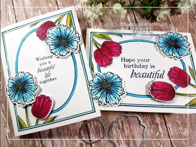 How to Alter Frame Stamps with Die Cuts