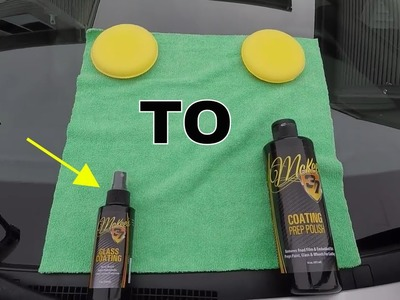 How To: Apply McKee's 37 Glass Coating ( DIY )
