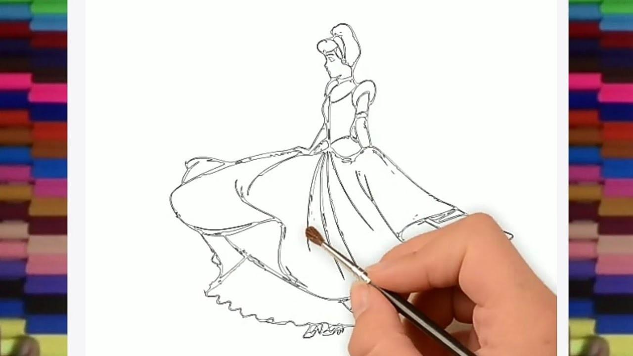 english sketch cinderella