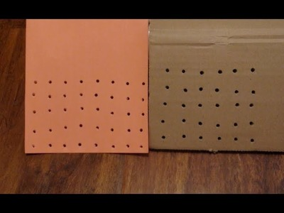How to Hole Punch Without a Hole Puncher