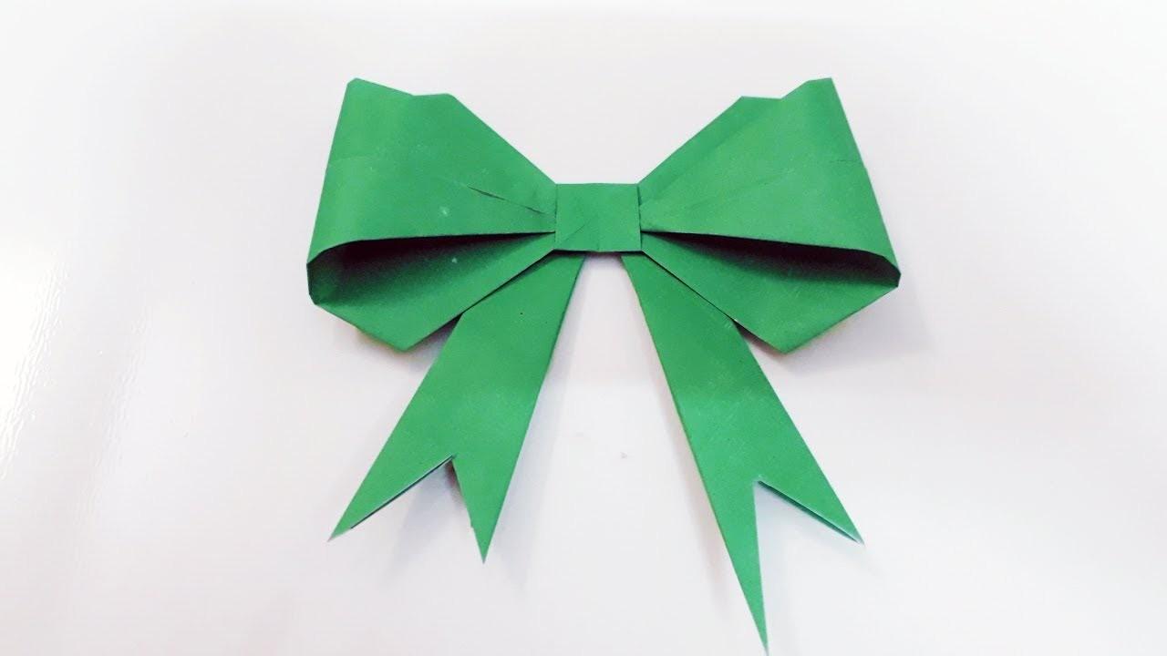 how to make a bowribbon diy ribbon bow origami bow
