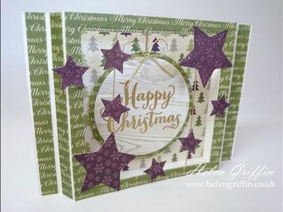 How To Make A Christmas Diorama Card