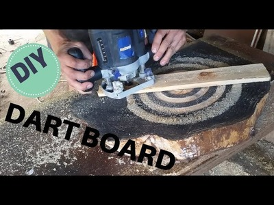 How to make  a dart board