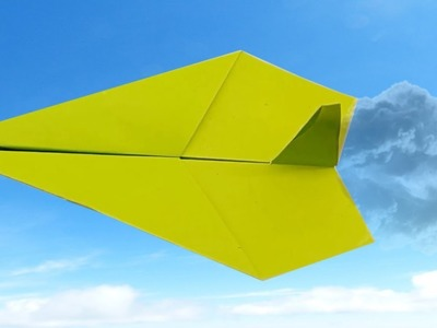 How to make a Paper Airplane - Top and Best Paper Planes in the World - The Plane can fly