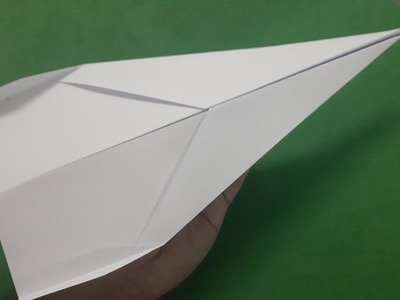How to make a paper airplane that flies 10000 feet easy | #4